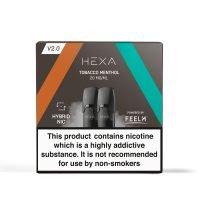 tobacco menthol hexa pod