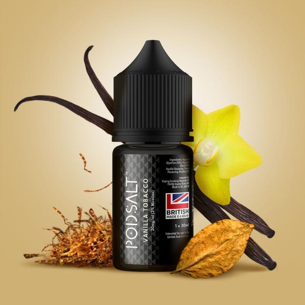 Vanilla Tobacco by Pod Salt